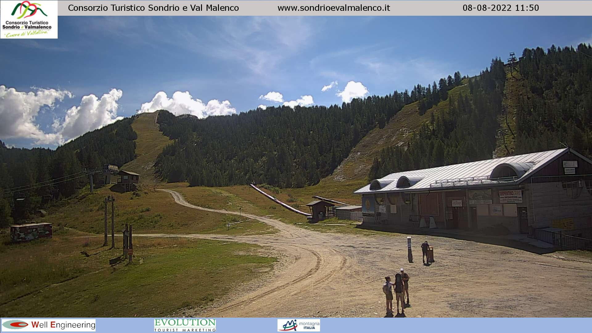 WEBCAM VALMALENCO