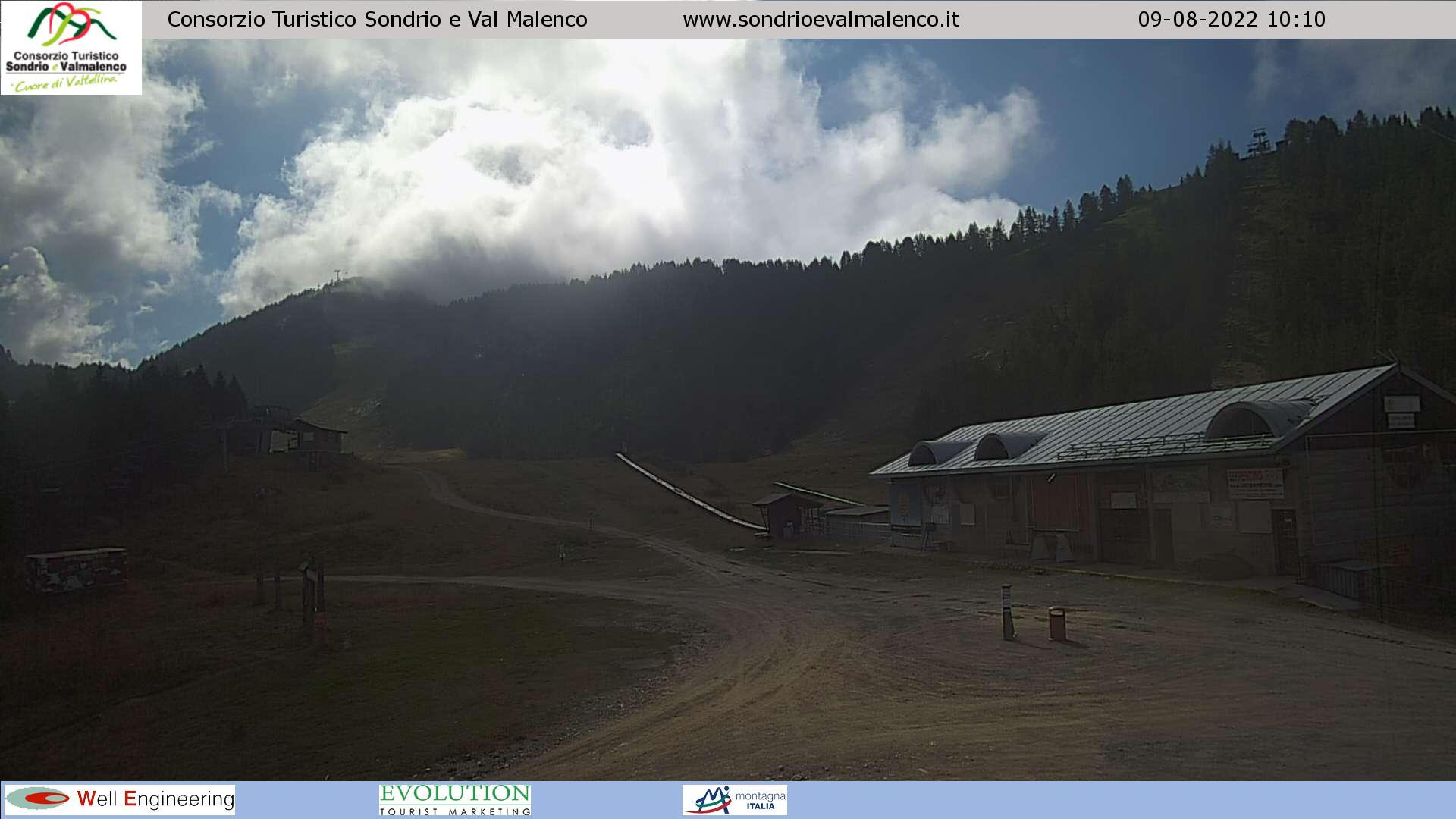 WEBCAM CHIESA VALMALENCO